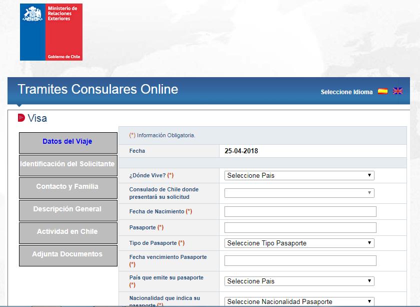 Pasaportes Venezuela – CHILE: Visa de Responsabilidad Democrática ...